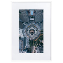 Load image in gallery, FOUNTAIN OF WEALTH Prints 39in 24in (36cm x 61cm) / Europe only - White frame with mat - Thibault Abraham