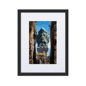 GARUDA WISNU Posters 12in x 18in (30cm x 45cm) / Europe only - Black box with mat - Thibault Abraham