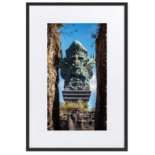 Load image in gallery, GARUDA WISNU Prints 39in x 24in (36cm x 61cm) / Europe only - Black frame with mat - Thibault Abraham