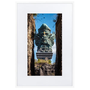 GARUDA WISNU Prints 24in x 36in (61cm x 91cm) / Europe only - White frame with mat - Thibault Abraham