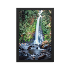GITGIT WATERFALL Prints 12in x 18in (30cm x 45cm) / Framed - Thibault Abraham