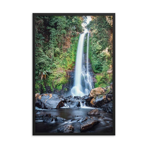 GITGIT WATERFALL Prints 24in x 36in (61cm x 91cm) / Framed - Thibault Abraham