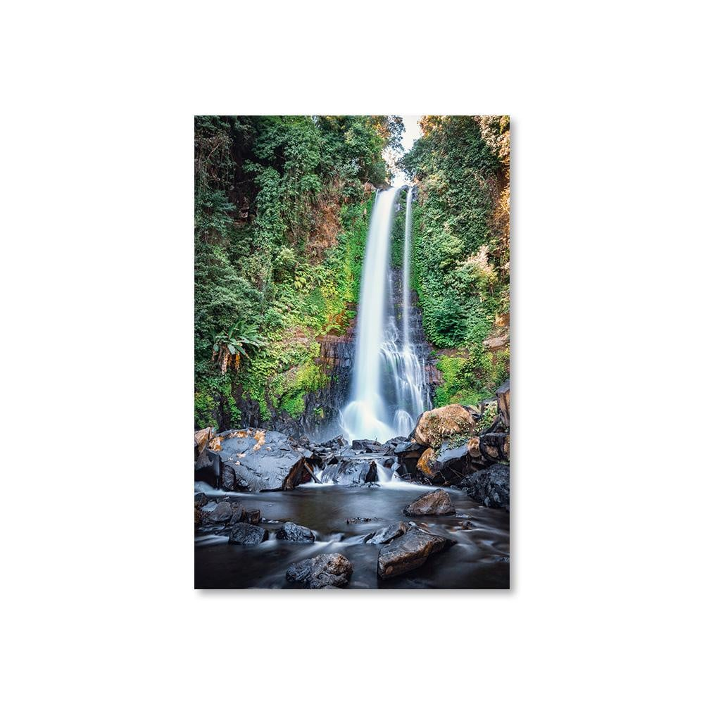 GITGIT WATERFALL Prints 12in x 18in (30cm x 45cm) / Unframed - Thibault Abraham