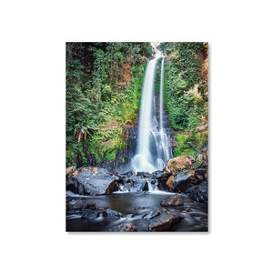 GITGIT WATERFALL Prints 18in x 24in (45cm x 61cm) / Unframed - Thibault Abraham