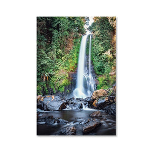 GITGIT WATERFALL Prints 24in x 36in (61cm x 91cm) / Unframed - Thibault Abraham