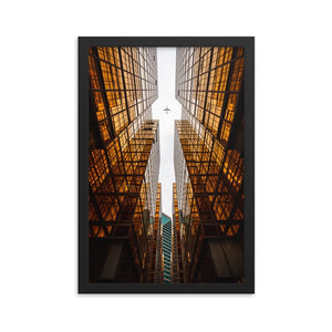 GOLDEN ERA Prints 12in x 18in (30cm x 45cm) / Framed - Thibault Abraham