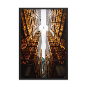 GOLDEN ERA Prints 24in x 36in (61cm x 91cm) / Framed - Thibault Abraham