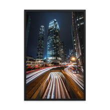 Load the image in the gallery, HYPERSPEED Posters 39in x 24in (36cm x 61cm) / Framed - Thibault Abraham