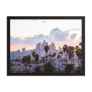 LOS ANGELES SUNSET Affiches 18in x 24in (45cm x 61cm) / Encadré - Thibault Abraham