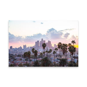 LOS ANGELES SUNSET Affiches 24in x 36in (61cm x 91cm) / Non encadré - Thibault Abraham