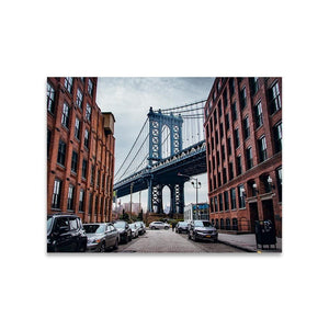 MANHATTAN BRIDGE Prints 18in x 24in (45cm x 61cm) / Unframed - Thibault Abraham