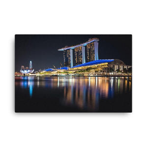 MARINA BAY SANDS Prints 24in x 36in (61cm x 91cm) / Canvas - Thibault Abraham