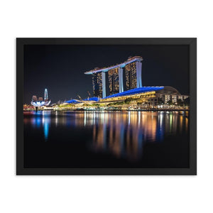 MARINA BAY SANDS Prints 18in x 24in (45cm x 61cm) / Framed - Thibault Abraham