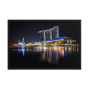 MARINA BAY SANDS Prints 24in x 36in (61cm x 91cm) / Framed - Thibault Abraham