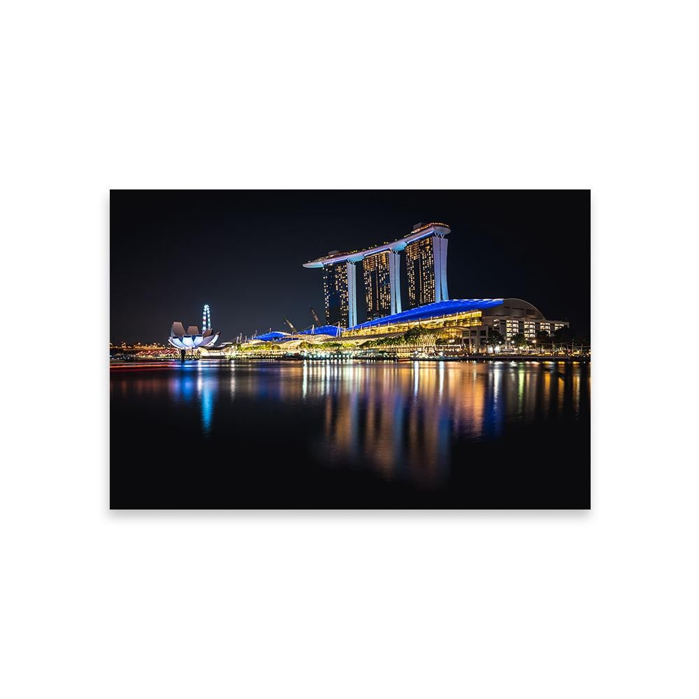 MARINA BAY SANDS Prints 12in x 18in (30cm x 45cm) / Unframed - Thibault Abraham