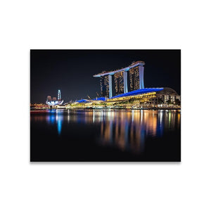 MARINA BAY SANDS Prints 18in x 24in (45cm x 61cm) / Unframed - Thibault Abraham