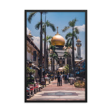 Load the image in the gallery, MASJID SULTAN 39in posters x 24in (36cm x 61cm) / Framed - Thibault Abraham