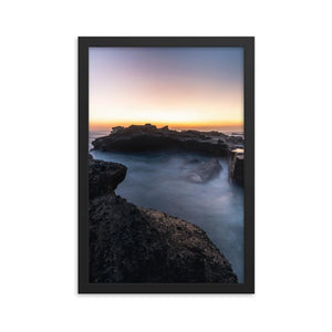 MYSTICAL SUNSET Posters 12in x 18in (30cm x 45cm) / Framed - Thibault Abraham