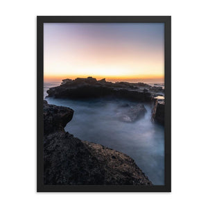 MYSTICAL SUNSET Posters 18in x 24in (45cm x 61cm) / Framed - Thibault Abraham