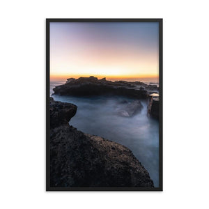 MYSTICAL SUNSET Posters 24in x 36in (61cm x 91cm) / Framed - Thibault Abraham