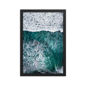 SURFERS PARADISE Posters 12in x 18in (30cm x 45cm) / Framed - Thibault Abraham