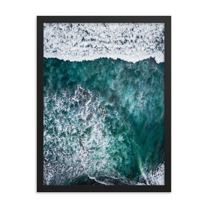 SURFERS PARADISE Posters 18in x 24in (45cm x 61cm) / Framed - Thibault Abraham