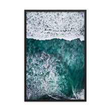 Load the image in the gallery, PARADISE SURFERS Posters 39in x 24in (36cm x 61cm) / Framed - Thibault Abraham