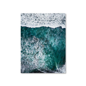 PARADISE SURFERS Posters 18in x 24in (45cm x 61cm) / Unframed - Thibault Abraham