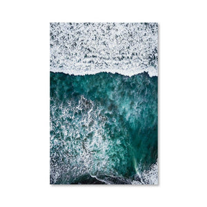 PARADISE SURFERS Posters 24in x 36in (61cm x 91cm) / Unframed - Thibault Abraham