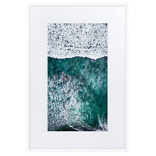 Load image in gallery, SURFERS PARADISE Prints 39in x 24in (36cm x 61cm) / Europe only - White frame with mat - Thibault Abraham