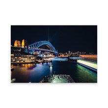 Upload the image to the gallery, SYDNEY HARBOR Posters 24in x 36in (61cm x 91cm) / Unframed - Thibault Abraham