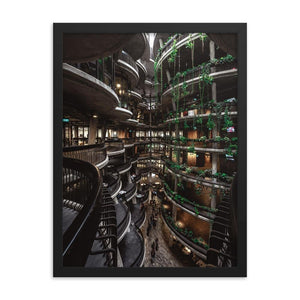 THE HIVE Posters 18in x 24in (45cm x 61cm) / Framed - Thibault Abraham