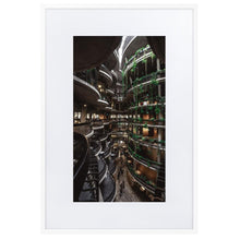 Load image in gallery, THE HIVE Prints 39in x 24in (36cm x 61cm) / Europe only - White frame with mat - Thibault Abraham