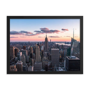 TOP OF THE ROCK Affiches 18in x 24in (45cm x 61cm) / Encadré - Thibault Abraham