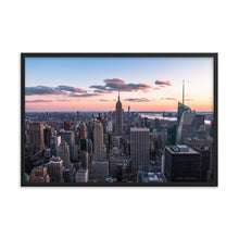 Load image in gallery, TOP OF THE ROCK 39in x 24in (36cm x 61cm) / Framed - Thibault Abraham