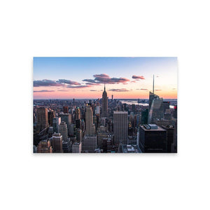 TOP OF THE ROCK Affiches 12in x 18in (30cm x 45cm) / Non encadré - Thibault Abraham
