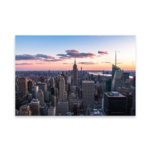 Load the picture in the gallery, TOP OF THE ROCK 39in 24in posters (36cm x 61cm) / Not framed - Thibault Abraham