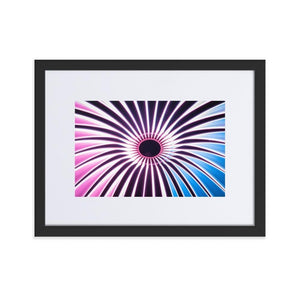 VORTEX Prints 12in x 18in (30cm x 45cm) / Europe only - Black frame with mat - Thibault Abraham
