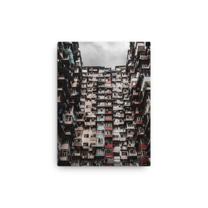 YICK FAT BUILDING I Posters 12in x 18in (30cm x 45cm) / Canvas - Thibault Abraham