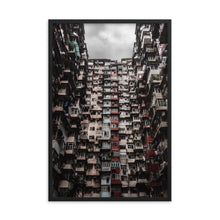 Load image in gallery, YICK FAT BUILDING I Prints 39in x 24in (36cm x 61cm) / Framed - Thibault Abraham