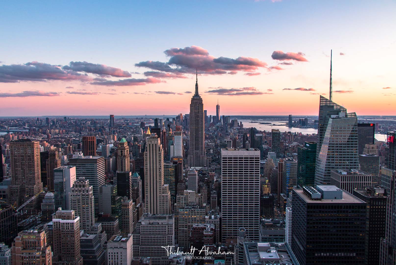 Vue de Manhattan depuis le Top of The Rock