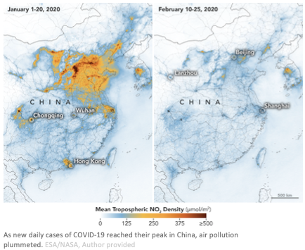 China Air Pollution Reduced Due To Covid-19