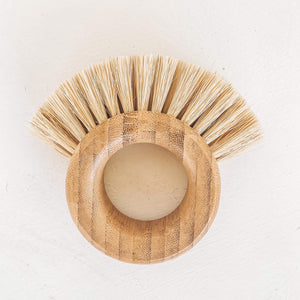 sustainable reusable vegan dish brush