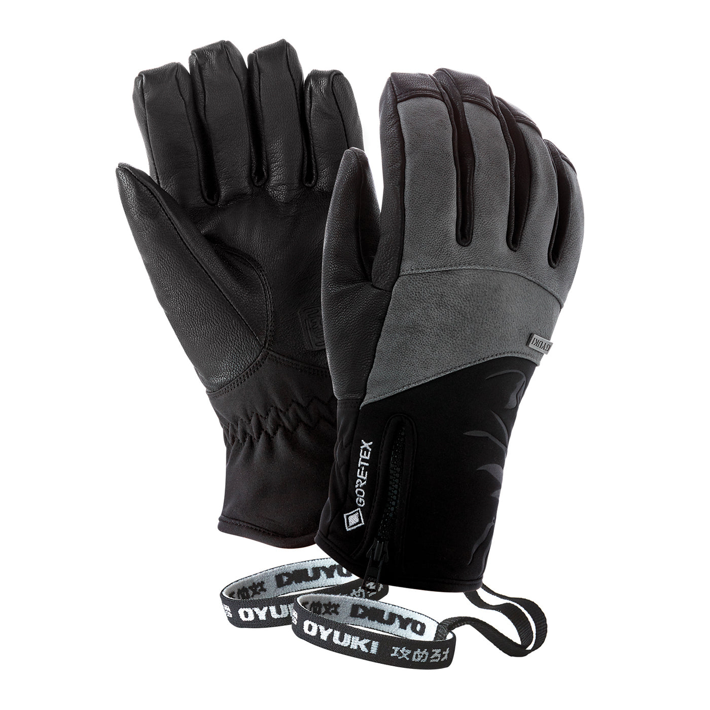 Oyuki Kana GTX Glove | Black Grey- Shop Skis and snow gear online nz - snowscene