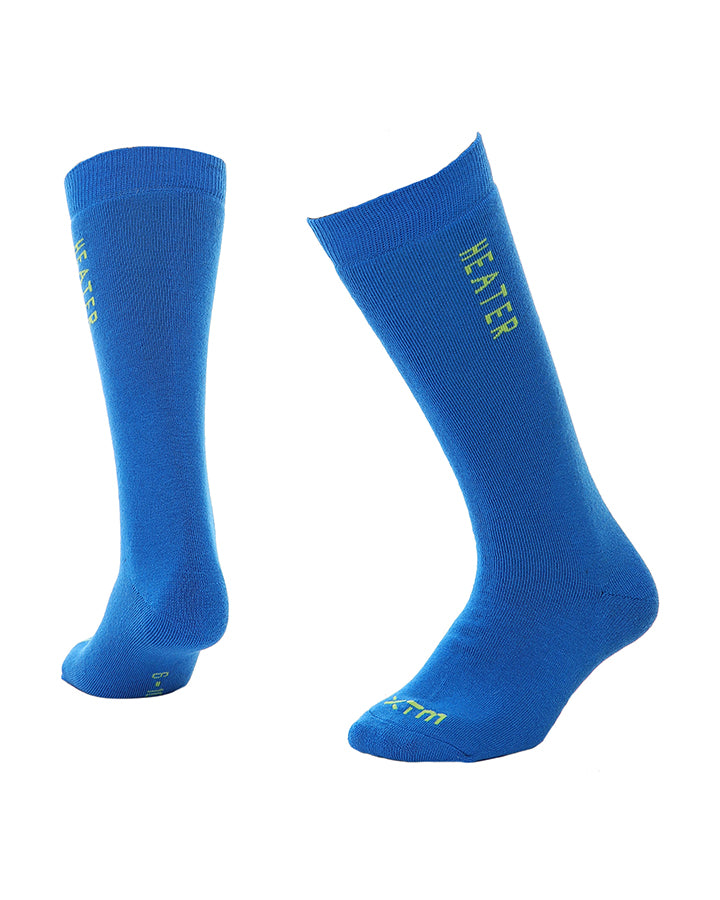 XTM Heater Ski Socks | French Blue- Shop Skis and snow gear online nz - snowscene