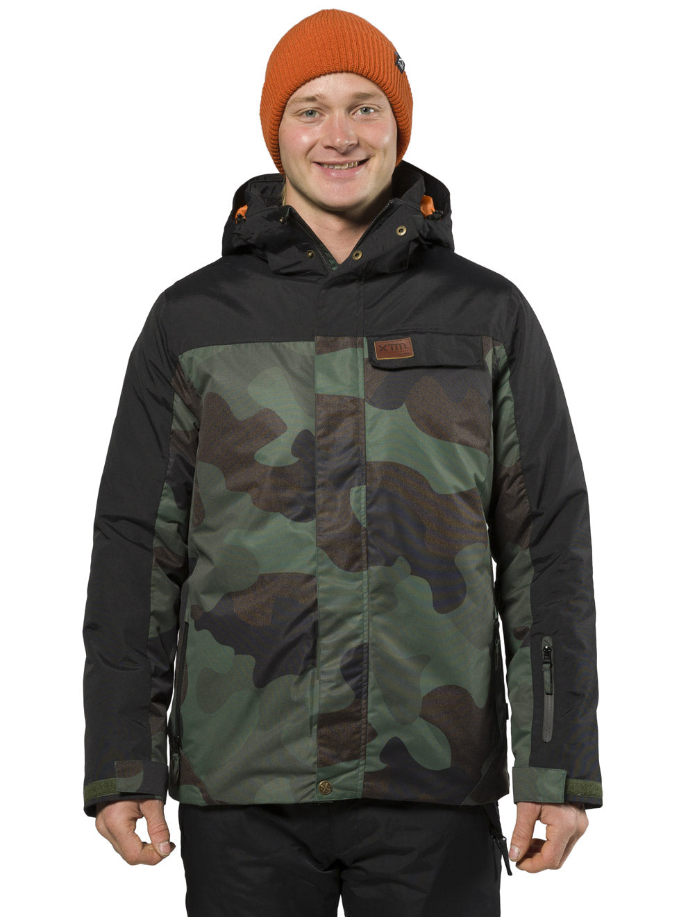 XTM Axel Jacket | Camo- Shop Skis and snow gear online nz - snowscene