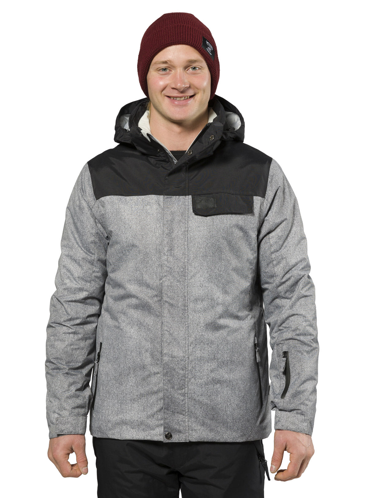 XTM Axel Jacket | Grey Denim- Shop Skis and snow gear online nz - snowscene