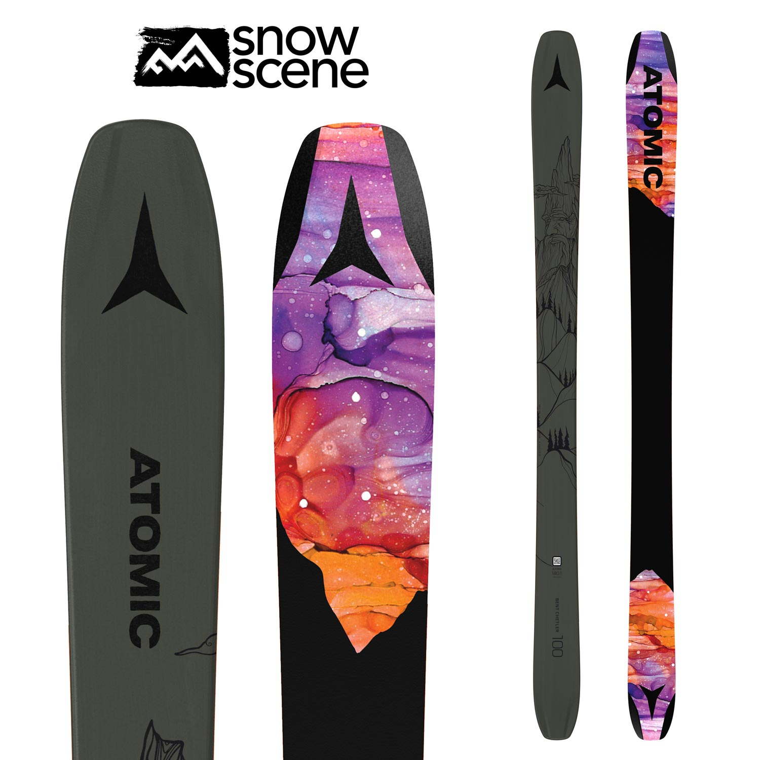 2021 Atomic Bent Chetler 100- Shop Skis and snow gear online nz - snowscene