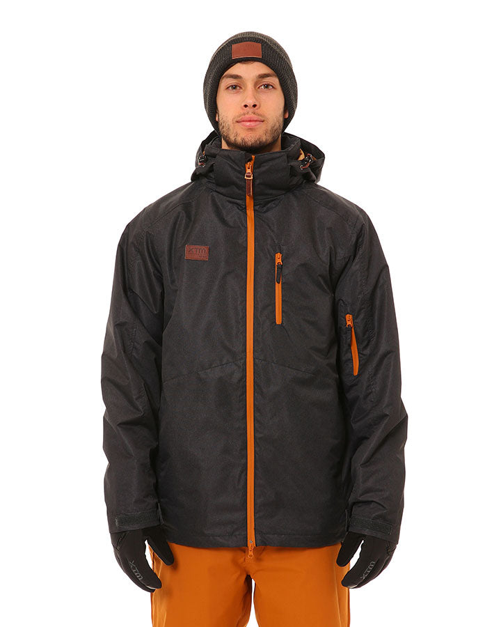 XTM Finn Jacket | Black Denim- Shop Skis and snow gear online nz - snowscene