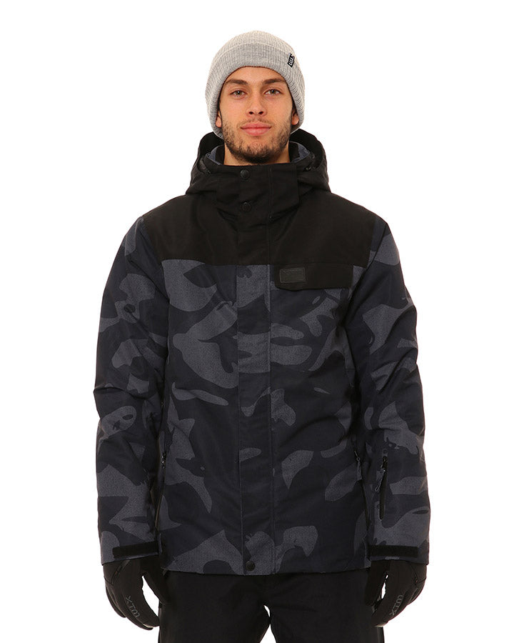 XTM Miles Jacket | Black Camo- Shop Skis and snow gear online nz - snowscene